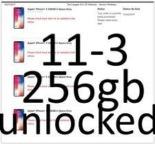 NEW iPhone X PLUS 256GB Space Gray UNLOCKED TMobile VERIZON Straight Talk ATT