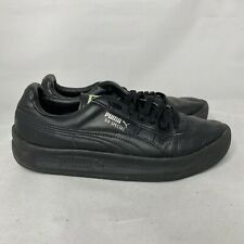 Puma Mens GV Special 343569-45 Black Athletic Shoes Lace Up Low Top Size 7.5