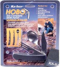 Ka-Bar Hobo Folding Knife Spoon Fork Camping & Eating Stainless Multi-Tool 1301
