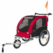 Skiiddii Foldable Dog Stroller / Pet Bicycle Trailer Bike Trailer Dog Trailer