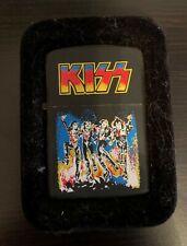 KISS Black Matte Band Zippo Lighter