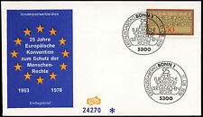 West Germany 1978 Human Rights FDC First Day Cover #C29215