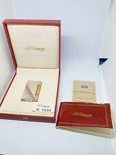 S. T. Dupont Feuerzeug - Lighter - Line D - Box