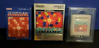 Tetris Flash Nintendo Game Boy GB Japan Import Complete in Box CIB