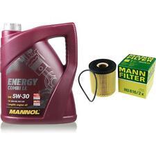 Motor-Öl 5L MANNOL 5W-30 Combi LL+MANN-FILTER Filterpaket MINI Mini R50 R53 One