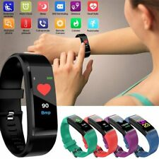 Bluetooth Smart Band Watch Wristband Fitness Tracker Blood Pressure Heart Rate