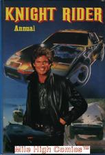 KNIGHT RIDER ANNUAL U.K. HC #1982 Very Fine