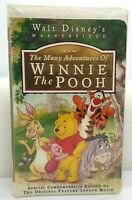 The Many Adventures of Winnie the Pooh VHS 1996 Clamshell Walt Disney TESTED