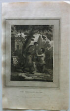 THE PRODIGAL'S RETURN Gravure BIBLE BROWN 1814