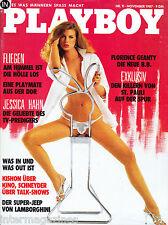Playboy 11/1987 November,Florence Geanty,Jessica Hahn,Jana Uhlmann,November