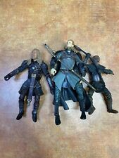 3 2002 Lord of The Rings Action Figures Legolas Eomer Orc