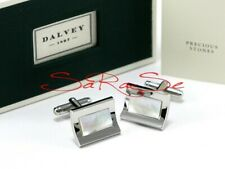 Dalvey Marine Cufflinks Stainless Steel Pearl New
