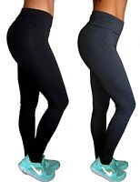 Sports Gym Leggings Pants High Rise Running Exercise 8 10 12 14 16 18 20 22 24