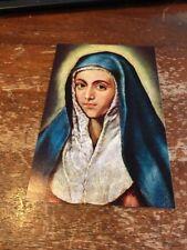 Postcard 118-C Greco La Virgen Maria Museo del Prado