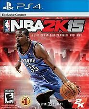 NBA 2K15 Sony PlayStation 4 PS4 sports basketball video games game used