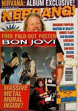 Metallica on Kerrang Cover 1993     Bon Jovi    Pearl Jam   Smashing Pumpkins