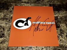 Matthew Sweet Rare Autographed Signed Altered Beast Reissue LP Record Cover 2018