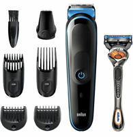 Braun MGK5245, 7-in-1 Cordless & Rechargeable, with Gillette ProGlide Razor