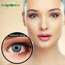 "Lenti a contatto colorate blu verde gris naturali con diottrie design: ""Natural"""