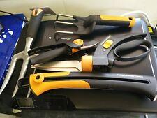 Fiskars set of 6 Garden hand tools.now added Fiskars SW 73.