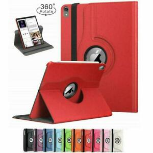 For Apple iPad Pro 12.9 1st 2nd Gen Case 360° Rotating PU Leather Case Cover