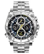 Bulova Precisionist Men's Quartz Chronograph Silver-Tone Bracelet Watch 96B175