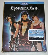 Resident Evil: The High-Definition Trilogy (Blu-ray Disc, 2008, 3-Disc Set) NEW