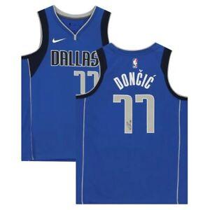 Luka Doncic Hand Signed Autographed Basketball NBA Swingman Jersey Fanatics New