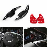 Steering Wheel Volant Shift pagaie shifter Pour Chevrolet Camaro 2016-19 Noir A
