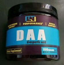 LN Performance - DAA - D-Aspartic Acid - Testosterone Support - Exp 9/2022
