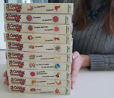 Il Corpo Umano - Siamo fatti così 10 VHS originali ITA videocassette COLLEZIONE