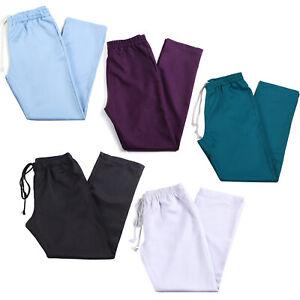 Beauty Salon SPA Therapist Nurses Work Trousers Unisex Uniform Workwear