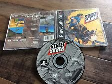 Street Sk8er (Sony PlayStation 1, 1999) Used Free US Shipping