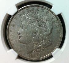 1921-D NGC AU 53 Morgan Dollar -  VAM 1B1 Gene L. Henry Silver Dollar Hoard