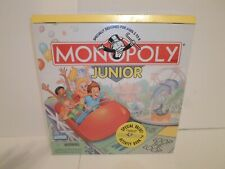 New! Monopoly Junior **w/ Activity Book** Board Game Learning Math Money Jr 2002