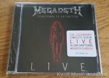 "MEGADETH  ""Countdown To Extinction Live""      NEW   (CD, 2013)"