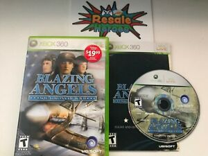 Blazing Angels Squadrons of WWII Microsoft Xbox 360 - Complete