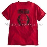 New Disney Store Marvel The Invincible Iron Man T-Shirt Tee Adult Top L-XL