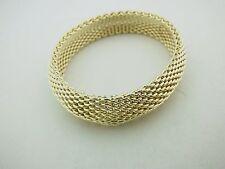 Tiffany & Co Sterling Silver 58.5g Woven Somerset Mesh Bracelet