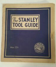 """AMERICAN """"1944 THE STANLEY TOOL GUIDE"""" EXTREMELY RARE (NEW BRITAIN, CONNECTICUT)"""