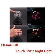 Plasma Kugel Licht Touch Sense Globe Nebula Sphäre Neuheit Spielzeug Stütze Heim