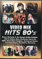 Vídeo Mix Hits 80's DVD Madonna R.P.M. Hall & Oates Kiss The Cure Brand New