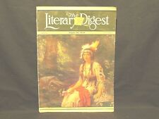 THE LITERARY DIGEST AUGUST 16TH, 1930 VINTAGE MAGAZINE GREAT ARTICLES AND ADS
