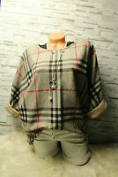 Italy Pullover Gr. 36 38 40 42 Shirt Karo Teile blogger Glencheck Top Kette
