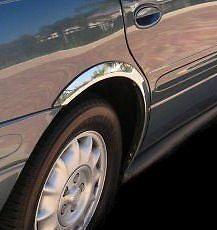 KIA CERATO Saloon '04-08 Wheel Arch Trims for Wing & Quater New Set 4pcs. CHROME