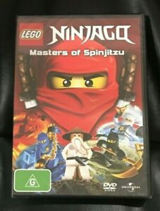 LEGO Ninjago - Masters of Spinjitzu (DVD, 2011) Brand New Still Sealed Region 4