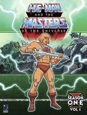 He-Man & Masters of the Universe Season 1 Volume 1 DVD 2005 6-Disc SEALED fr/shp