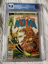 Nova #5 CGC 9.8 White Pages (1977) - Stan Lee appearance!