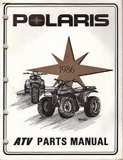 1986 POLARIS ATV TRAIL BOSS & SCRAMBLER P/N 9911170  PARTS MANUAL (216)
