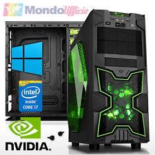 PC GAMING Intel i7 7700 - Ram 8 GB - HD 1 TB - GTX 1060 6 GB - Windows 10 Pro